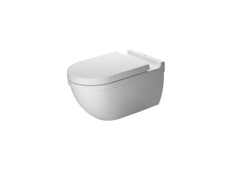 duravit 2226090092 white starck 3 dual flush wall mounted elongated toilet less seat