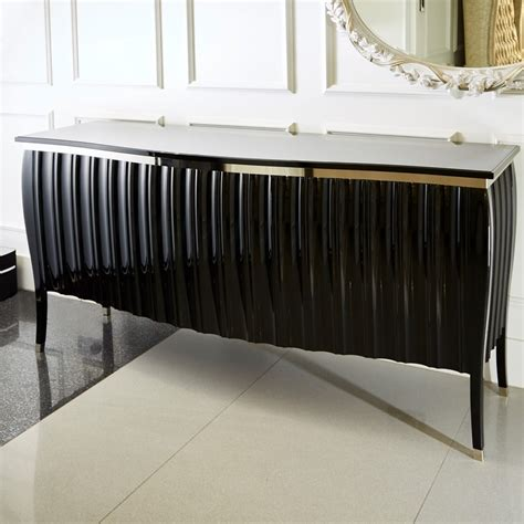 Black Gloss Buffet Sideboard by Contemporary High Gloss Black Sideboard Buffet