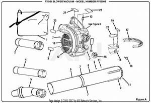 Homelite Ry09055 Blower  Vacuum Parts Diagram For Figure A