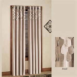 lulu semi sheer grommet curtain panels