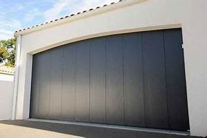 pose de portes de garage sur mesure alu pvc acier bois With porte garage acier