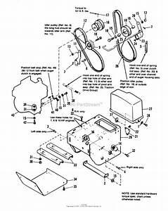 34 Simplicity Snowblower Parts Diagram