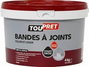 Plaque De Platre : enduit p te pour joint plaque de pl tre toupret pot 4 kg ~ Melissatoandfro.com Idées de Décoration