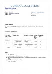 normal resume format for freshers normal resume of a fresher pharmacist resume template exle