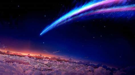 Space Anime Wallpaper - space anime your name wallpapers hd desktop and