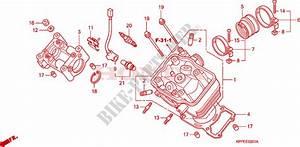 Cylinder Head  Cbr125rw7  Rw9  Rwa  For Honda Cbr 125 Black