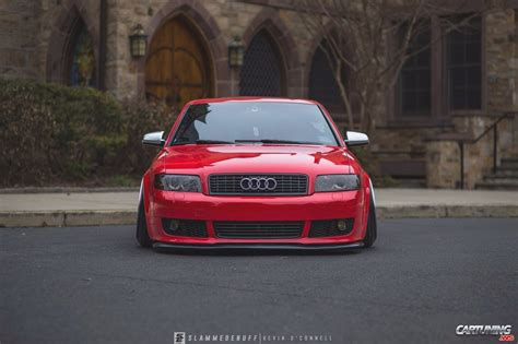 stanced audi   front