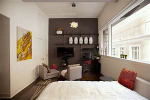 Amazing of beautiful marvelous furniture for small studio for Brilliant small one bedroom apartment