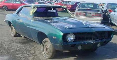 Indy Boat Salvage Website by 1969 Camaro Z28 For Sale 4 500 Dz302 69 Z 28 Ss396