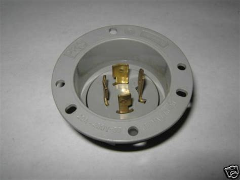 P & S Electrical Plug 20a 480v 3 Phase