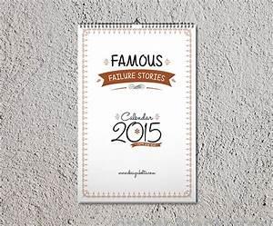 Free wall calendar design template mockup psd