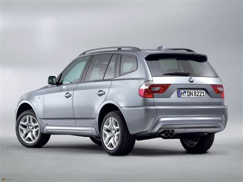 bmw x3 e83 bmw x3 m sports package e83 2005 images 2048x1536