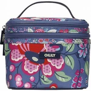 Oilily Beauty Case : oilily winter blossom square cosmetic bagtasche kosmetiktasche kulturbeutel blau eur 45 00 ~ Orissabook.com Haus und Dekorationen