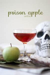Poison Apple Cocktail - The Little Epicurean