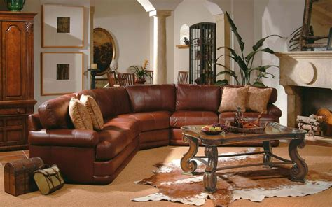 Ideas For Leather Living Room by 6 Living Room Decor Ideas With Sectional Home Design Hd