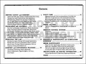 1973 Datsun 1200 Owners Manual Original Oem User Guide