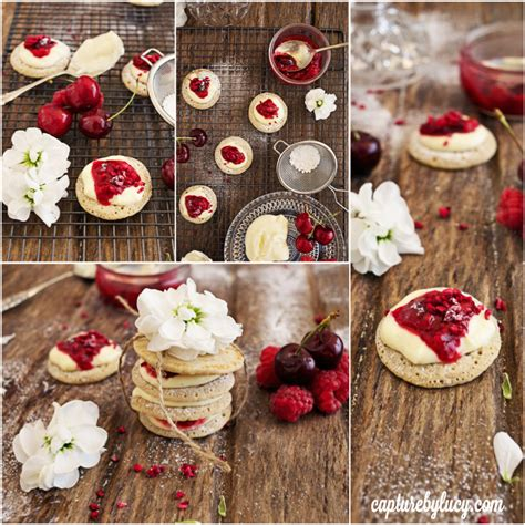 summer canapes summer canapés raspberry and cherry delight