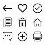 Application Icon Icons Vector Web App Ui