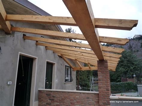 progetto tettoia progetto tettoia in legno con portico in legno lamellare