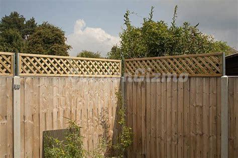 adding trellis  existing fence google search diy