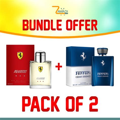 @mopinto you cannot expect a fragrance in this price range to contain real oud. Bundle of 2 - Ferrari Red 125Ml Edt + Ferrari Cedar Essence 100Ml Edp 10,590 KSh   Zawadi KE