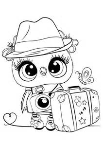 easy  print owl coloring pages tulamama