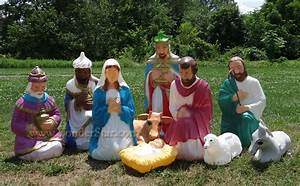 large outdoor lighted nativity scene images With outdoor nativity lights for sale