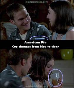 American Pie (1999) movie mistakes, goofs and bloopers
