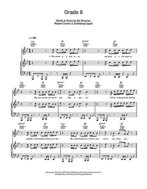 Ed Sheeran The Parting Glass Chords