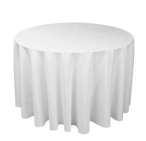 round white table cloth round white tablecloths