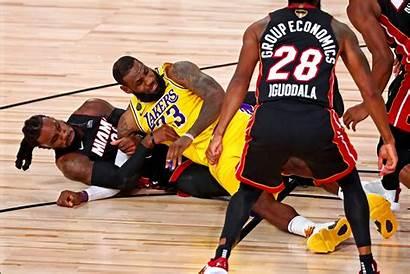 Lakers Heat Miami Nba Finals Vs Wade