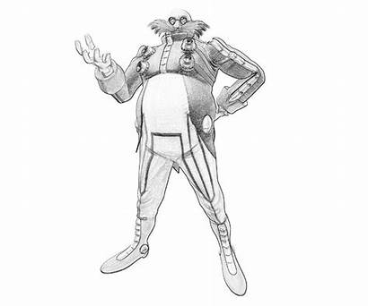 Sonic Dr Robotnik Coloring Pages Eggman Generations