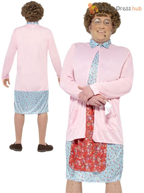 Adults Mrs Brown Boys Costume Mens Old Granny Fancy Dress TV Comedy Stag Party | eBay