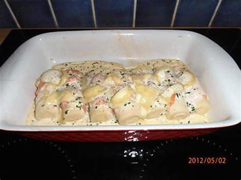 recette de coeurs de palmier au saumon fum 233 et au chevrotin