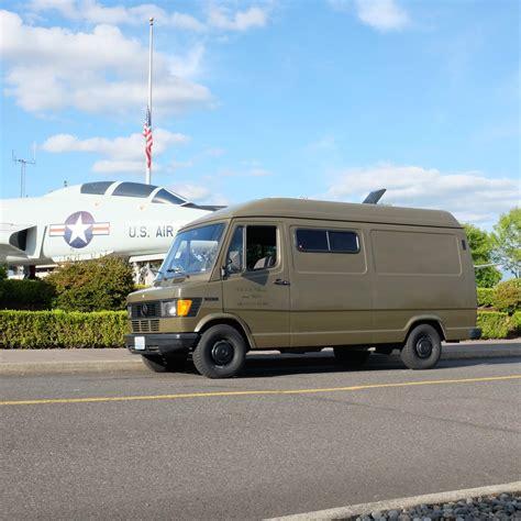 Car camper truck van trailer door edge black rubber felt seal strip. Mercedes 207D camper Van Military Operations Vehicle Pre ...