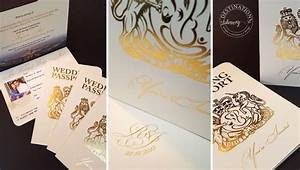 what is foil blocking With foil blocked wedding invitations