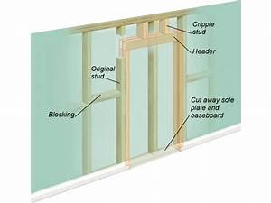 How to Cut a Doorway Into a Solid Wall DIY