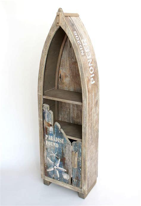 badezimmer regal maritim regal boot bootsform holz massiv antik mr16 maritim