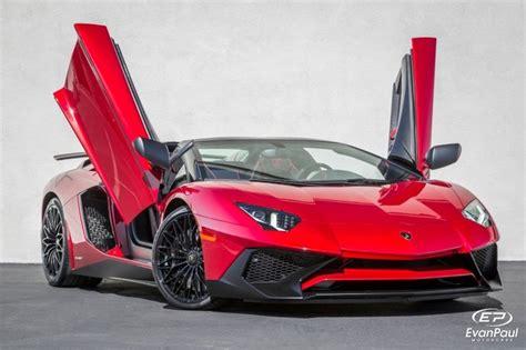 lamborghini aventador sv roadster red lamborghini aventador roadster sv evan paul
