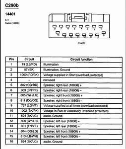 2000 Ford F 150 Radio Wiring Harness