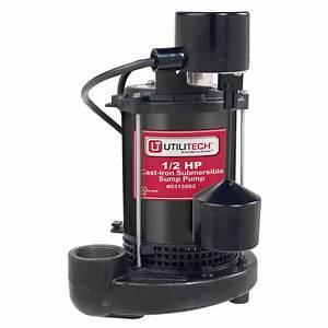 Submersible Pumps  Utilitech Submersible Pumps