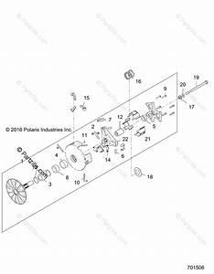 Polaris Side By Side 2018 Oem Parts Diagram For Drive
