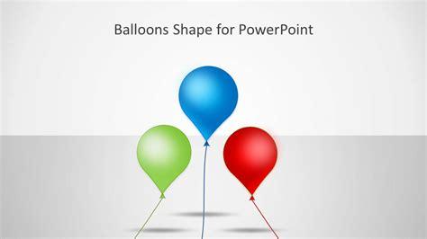 balloons shape  powerpoint slidemodel