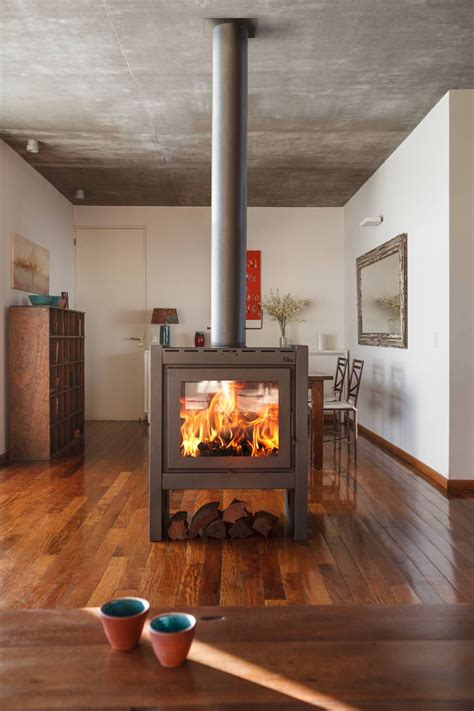 chimeneas modernas  espectaculares mis muebles