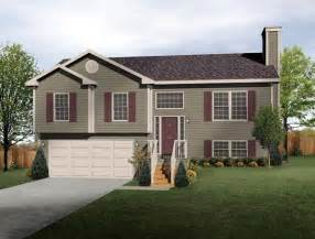 split level ranch split level house plan exterior colors diy home improvement exterior colors