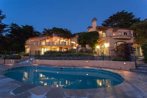 Carmel Highlands Ocean View Lower Walden Estate For Sale
