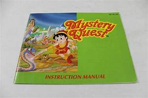 Manual - Mystery Quest