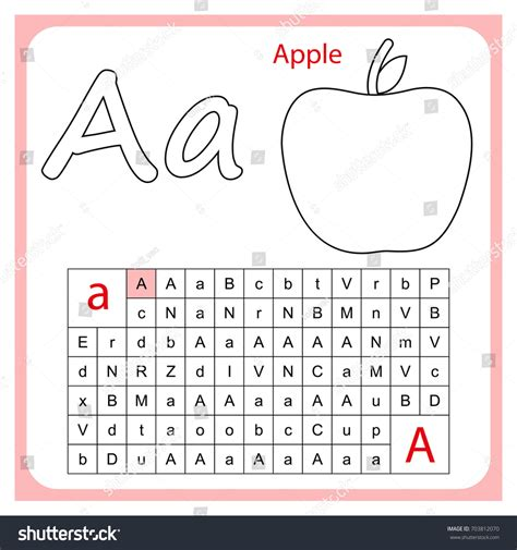 alphabets worksheets for kindergarten image worksheet 204 | worksheet learning alphabet preschool children stock pictures on tracing worksheets for kindergarten printable abc letters to print click any sheet easy collections of fill in the blank
