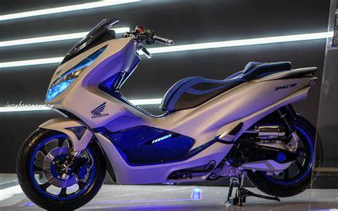 Pcx 2018 Hitam Modifikasi by Kumpulan Foto Modifikasi Honda Pcx Terbaru 2018 Zofay Texaw