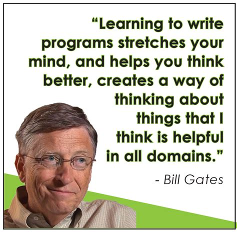 bill gates technology education quotes quotesgram